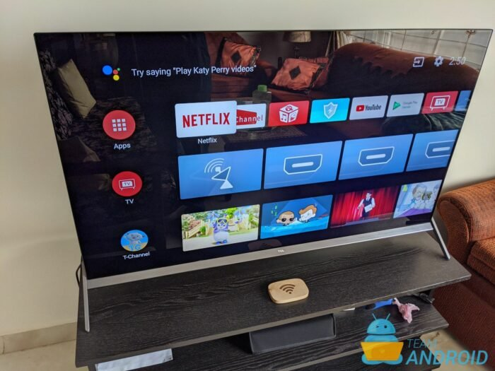 How to Android TV Install APK - TCL P8S