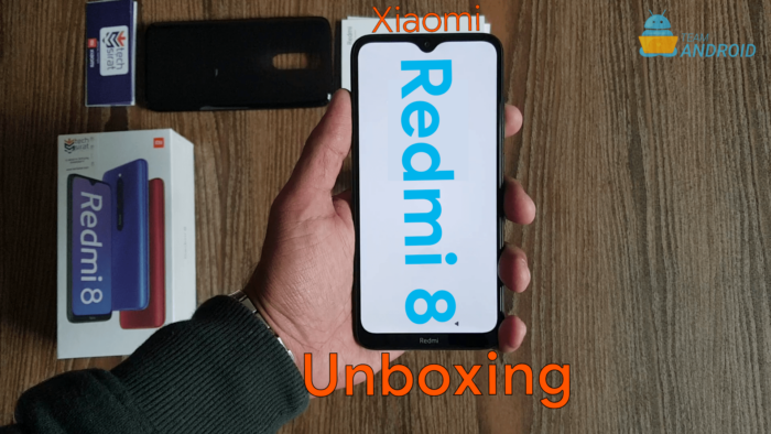 Redmi 8 Unboxing