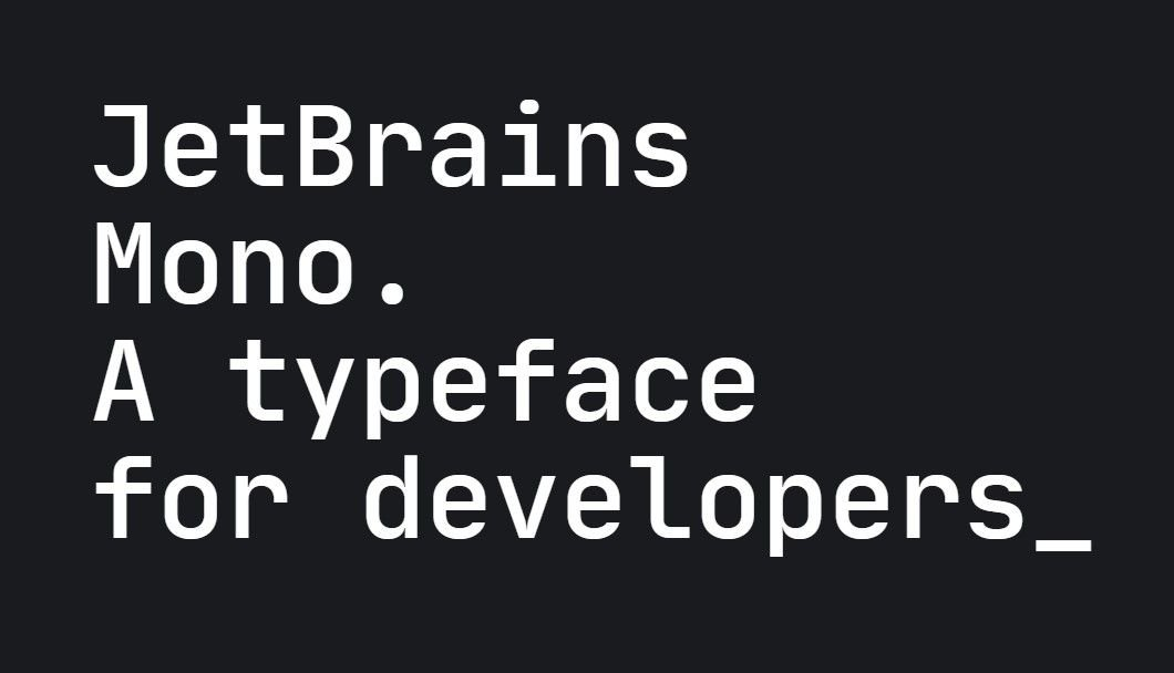 Download JetBrains Mono Font 1