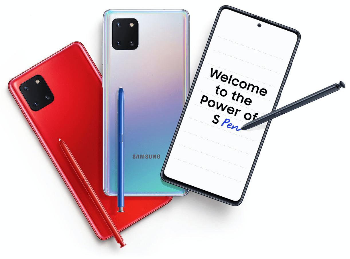 Is Samsung Galaxy Note 10 Lite Waterproof? 1