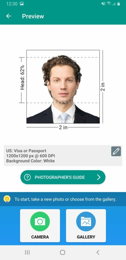How to Take Passport Photo on Android Phones 15