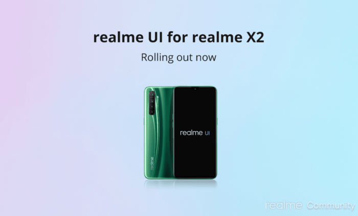 Realme X2 / X2 Pro Android 10 Update | Realme UI Download 9