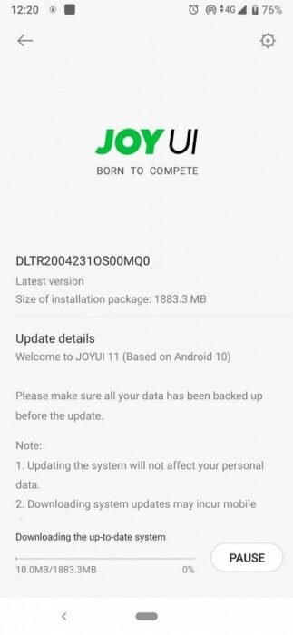 Xiaomi BlackShark 2 Pro Android 10 Update with JoyUI 11 Released | Download Now 12