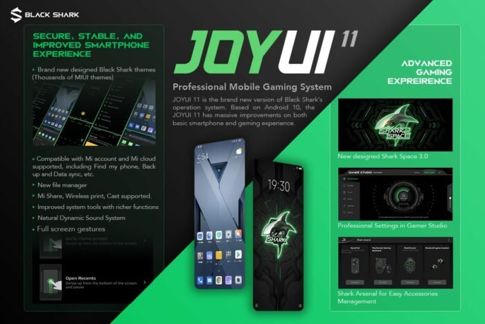 Xiaomi BlackShark 2 Pro Android 10 Update with JoyUI 11 Released | Download Now 11
