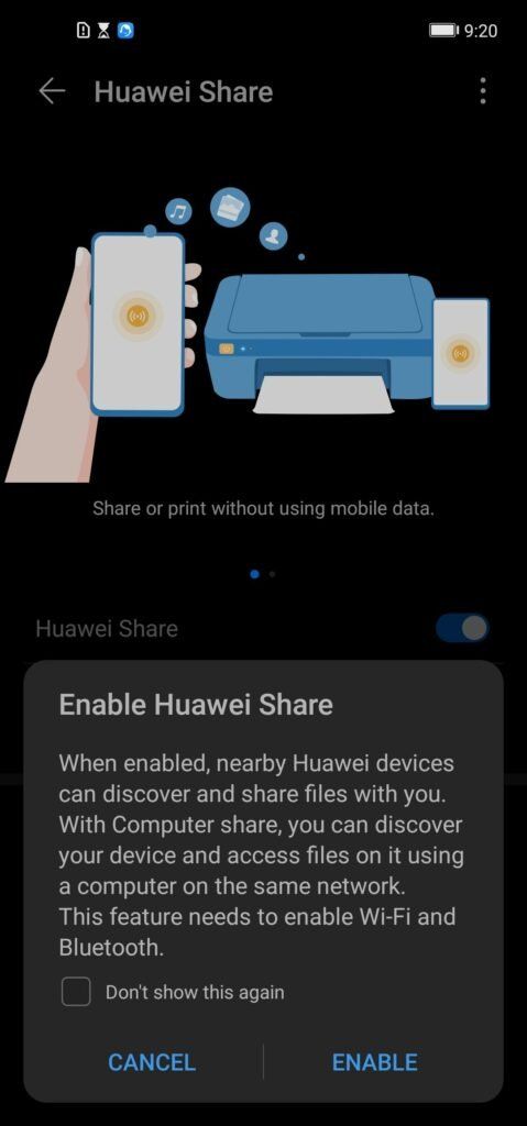 Use Huawei Share to Transfer Files Wirelessly on Windows 12
