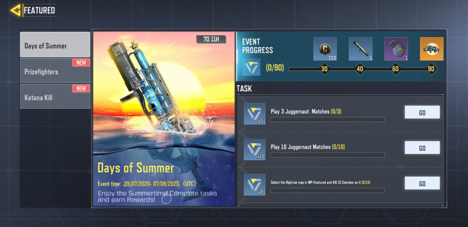 How to Unlock Purifier H2O in COD Mobile - Days of Summer Rewards 4