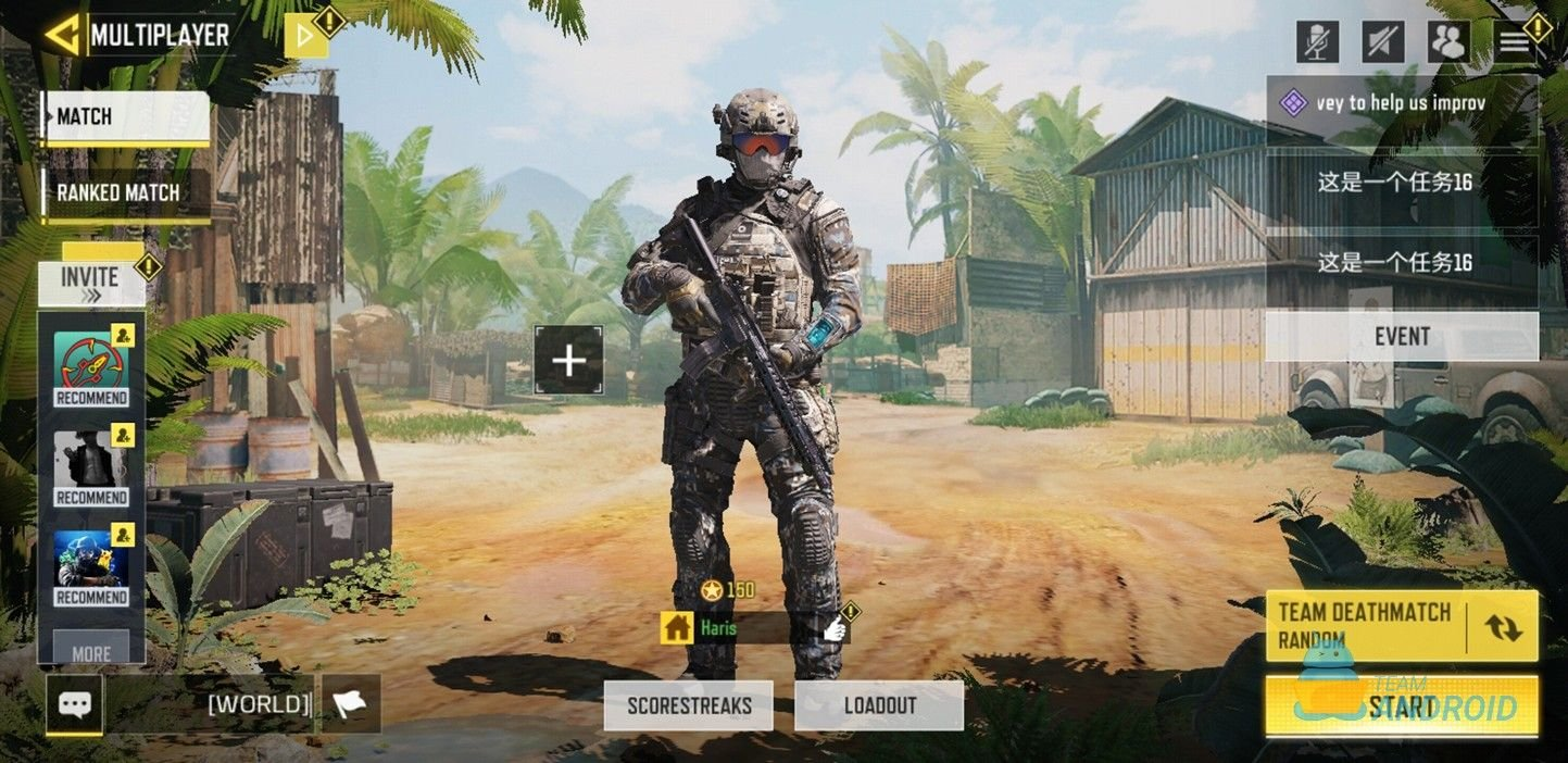 Download Cod Mobile Season 9 Test Build Gunsmith