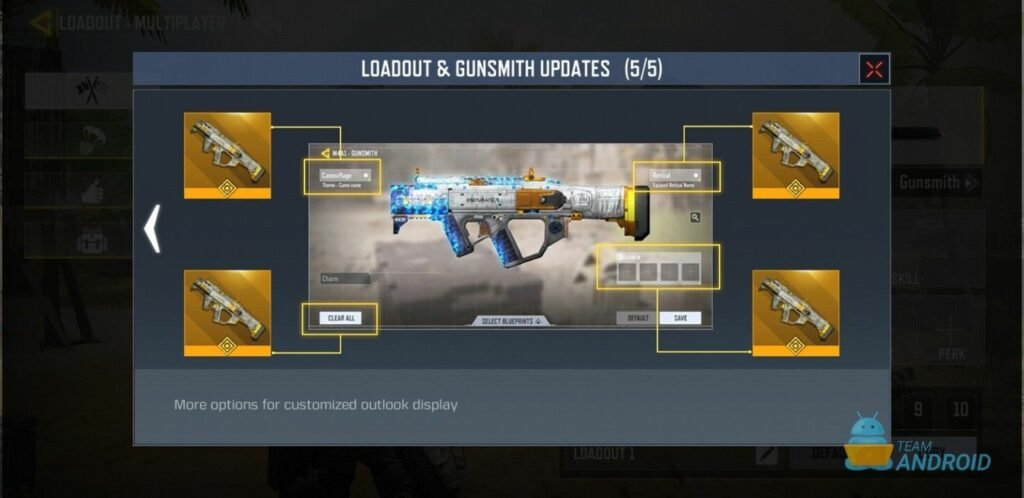Download Call of Duty Mobile Season 9 Test Build with Gunsmith, New Scorestreaks, Loadouts 25
