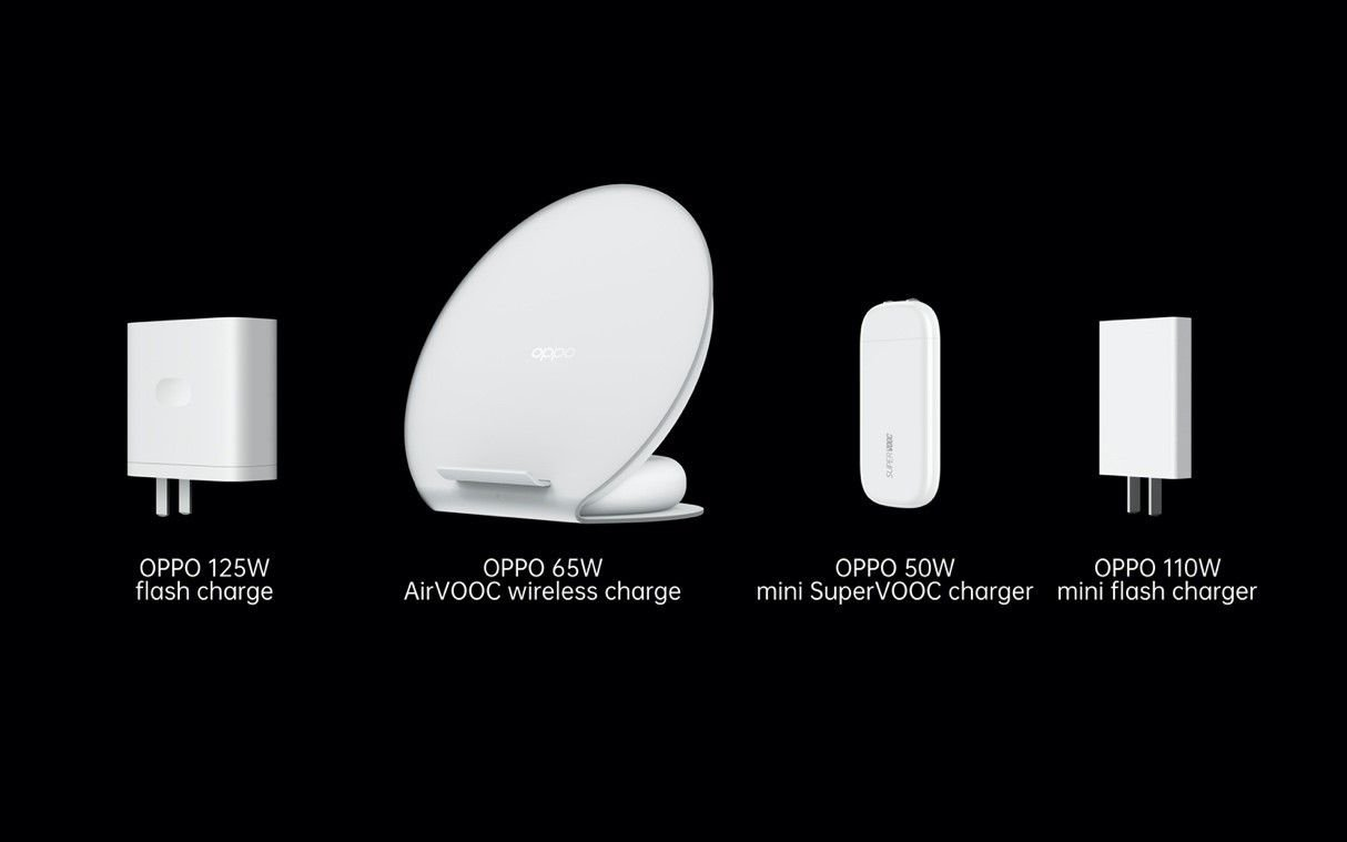 OPPO 125W Flash Charge and 65W AirVOOC Wireless Flash Charger Launched 8
