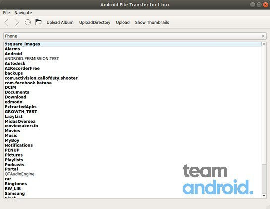 Android File Transfer for Linux 13