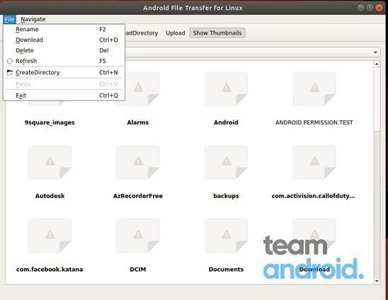 Android File Transfer for Linux 14