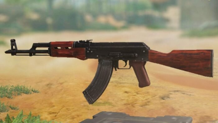 AK-47 in COD Mobile - Assault Rifle