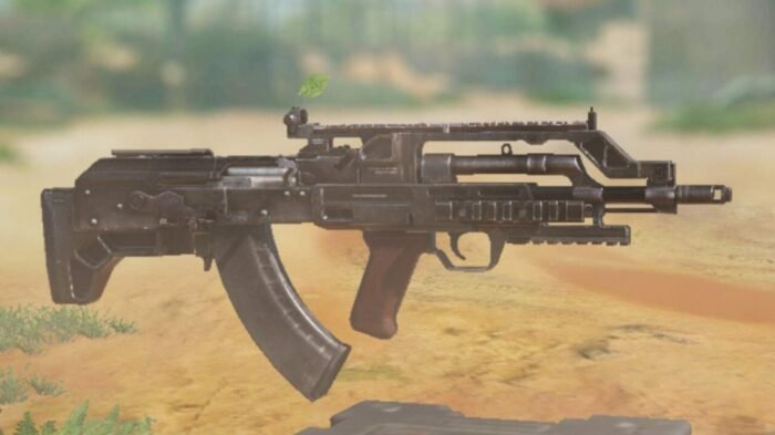 BK57 in COD Mobile - Assault Rifle