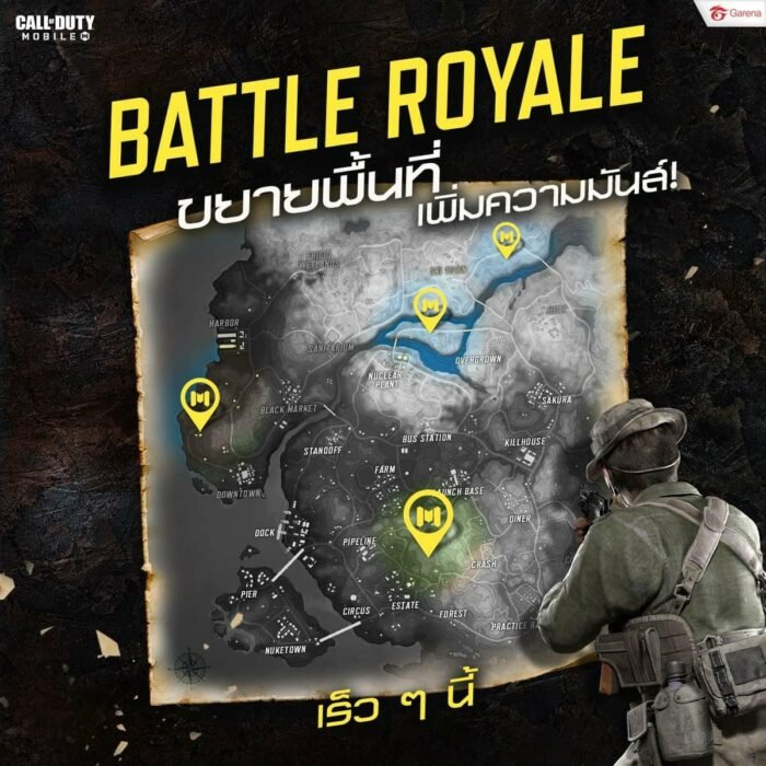 COD Mobile Season 9 Battle Royale New Locations