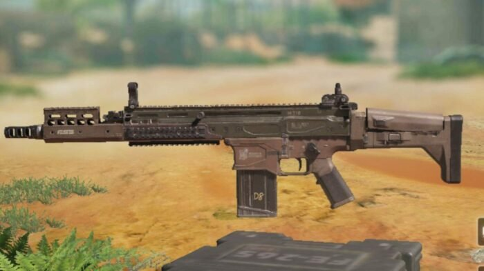 DR-H in COD Mobile - Assault Rifle