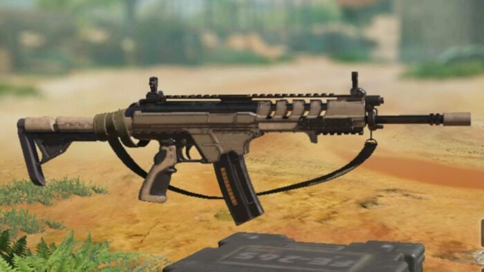 HBRa3 in COD Mobile - Assault Rifle