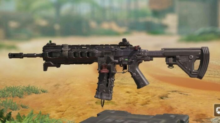 ICR-1 in COD Mobile - Assault Rifle