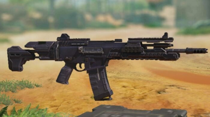 LK24 in COD Mobile - Assault Rifle