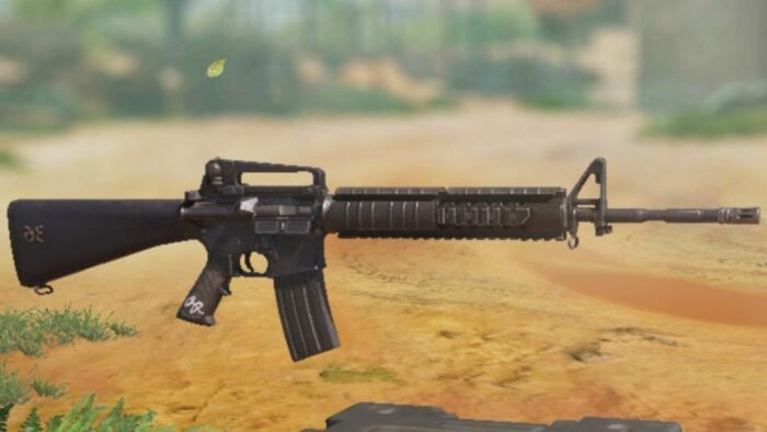 M16 in COD Mobile - Assault Rifle