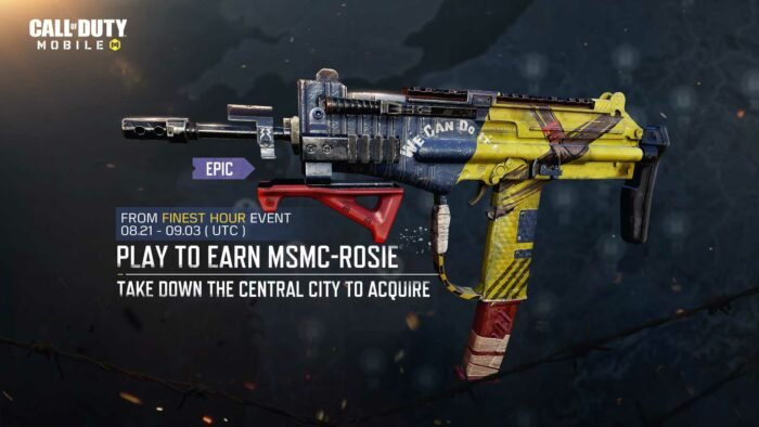 The Finest Hour - MSMC-Rosie