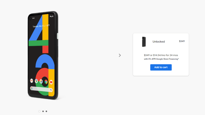 Where to Buy Google Pixel 4a in US 7