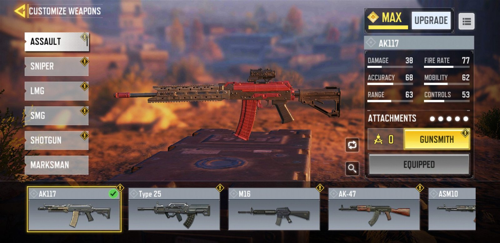 Best Assault Rifles in COD Mobile