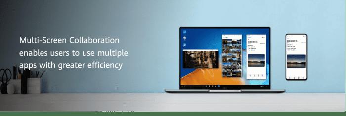 EMUI 11: Multi-Screen Collaboration