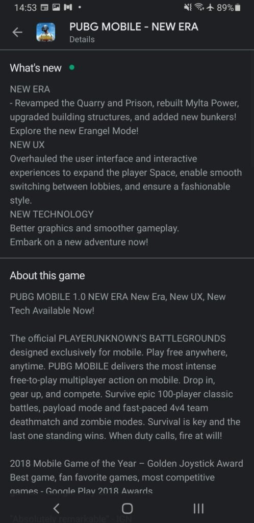 PUBG Mobile 1.0: Erangel 2.0 Map, Livik Improvements, New Game Mode | Update Now Available 10