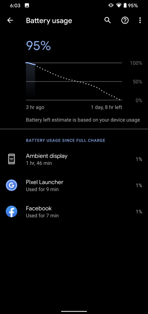 Calibrate Battery on Android - Battery Stats