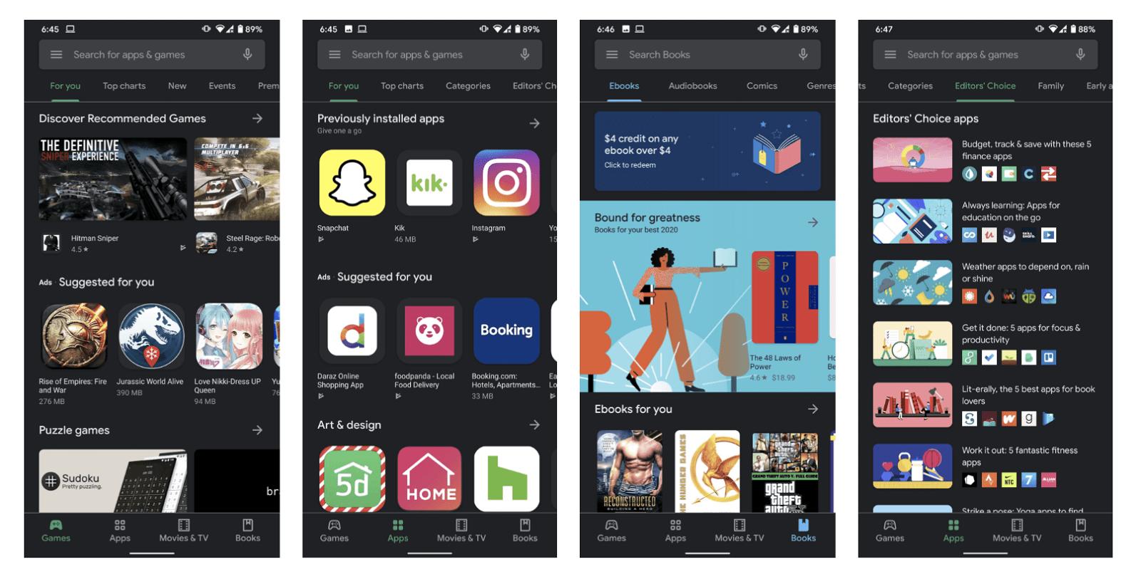 Google Play Store (2020)
