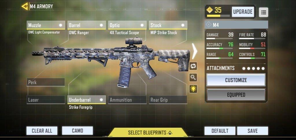 Best M4 Loadout (Gunsmith) on COD Mobile 10