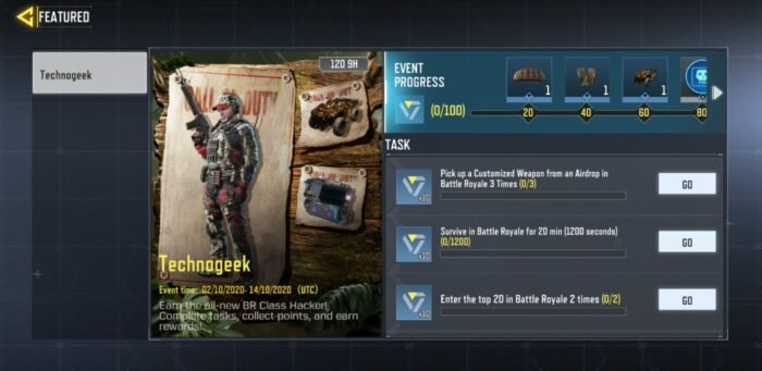 How to Unlock Hacker Class in Call of Duty: Mobile Battle Royale Mode 2