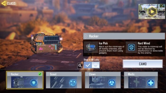 How to Unlock Hacker Class in Call of Duty: Mobile Battle Royale Mode 1