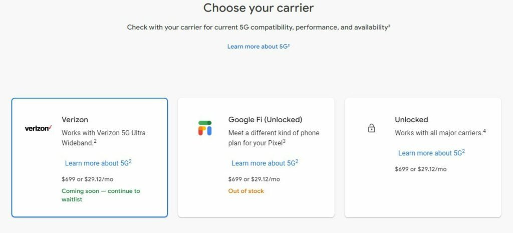 How to Pre-Order Google Pixel 5 11