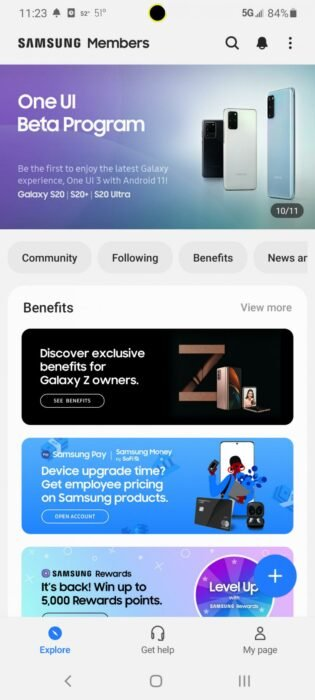 Download One UI 3.0 Android 11 Public Beta for Samsung Galaxy S20 Series 17