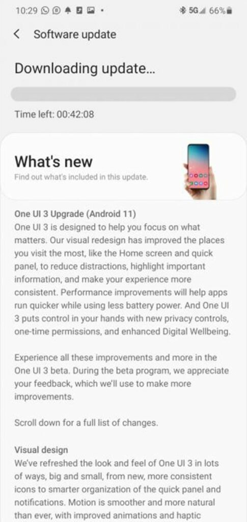 Download One UI 3.0 Android 11 Public Beta for Samsung Galaxy S20 Series 11