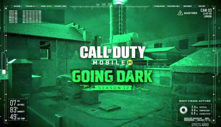 COD Mobile Season 12 - Going Dark | Patch Notes 1