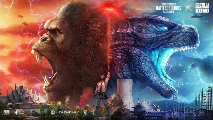 PUBG Mobile 1.4 APK - Godzilla vs Kong